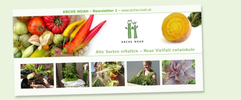 ARCHE NOAH Newsletter, Headerbild